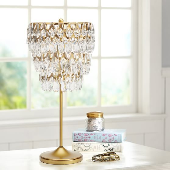 Teardrop Table Lamp Chandelier Table Lamp Small Table Lamp Bedside Table Lamps