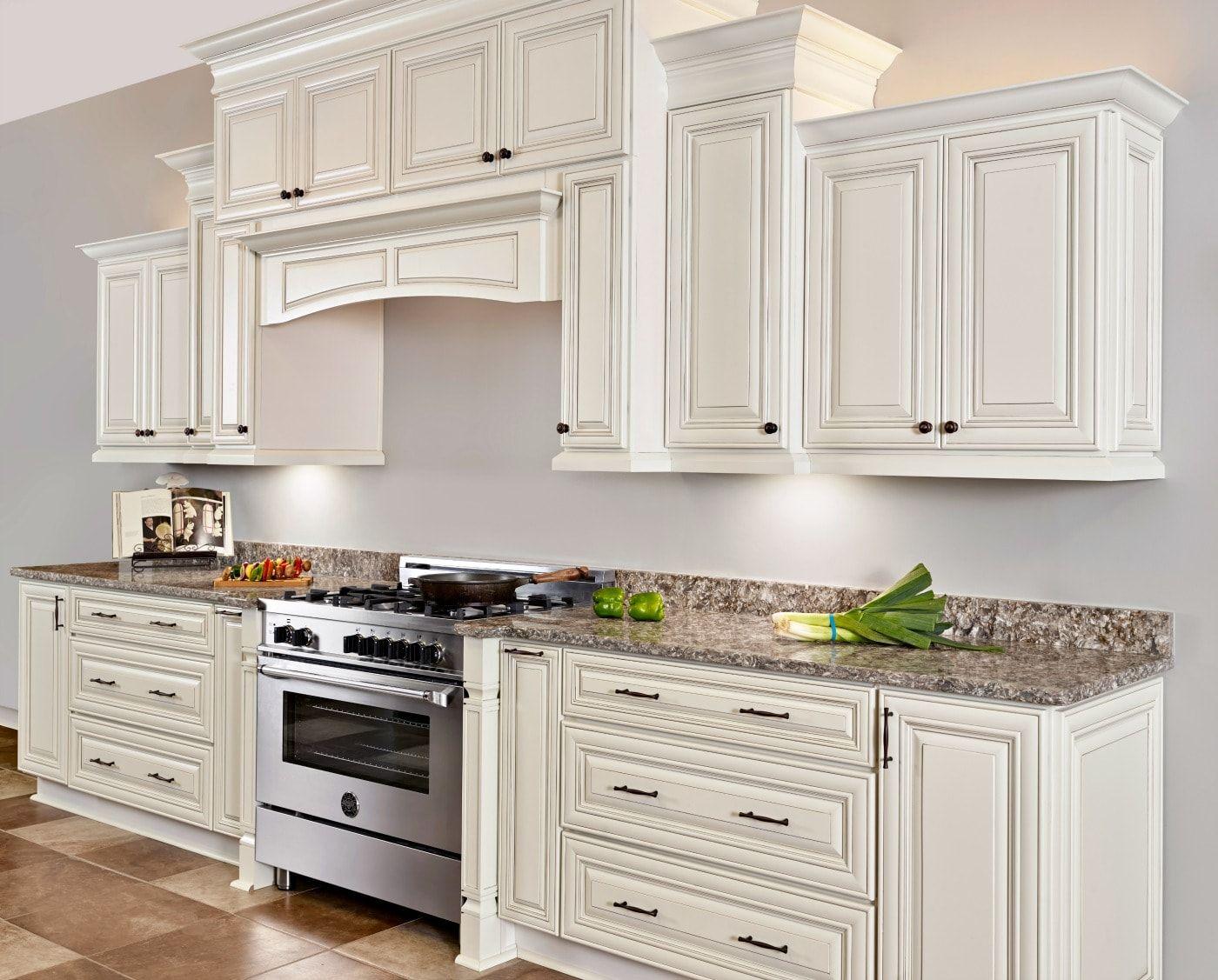 Lexington Oatmeal Glaze Distressed Kitchen Cabinets Kitchen Cabinets Kitchen Design