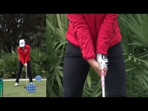 LYDIA KO - HANDS AT IMPACT (CLOSE UP SLOW MOTION) DRIVER SWING CME CHAMPIONSHIP TIBURON GOLF COURSE - YouTube