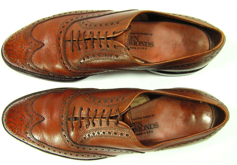 Groom Shoes Wedding Cap Toe Brown