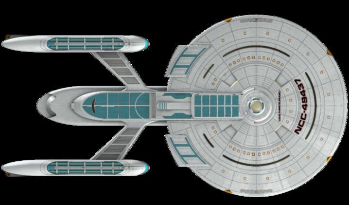 3d Ship Meshes Trek Star