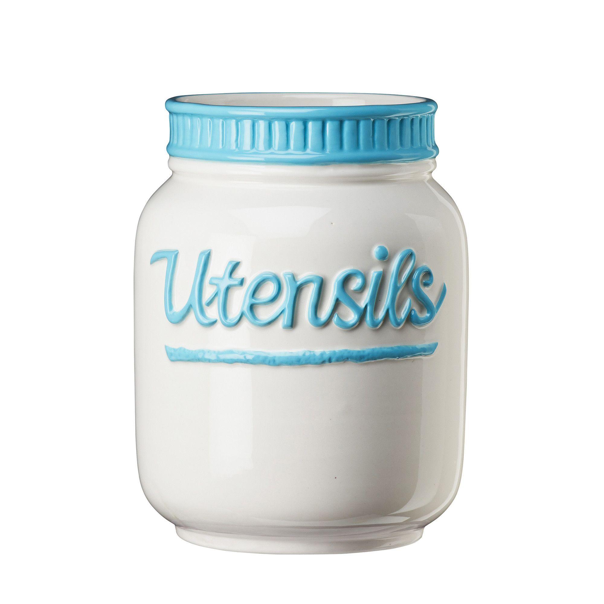 Dixie Kitchen Utensil Jar | Products | Pinterest | Kitchen utensils ...