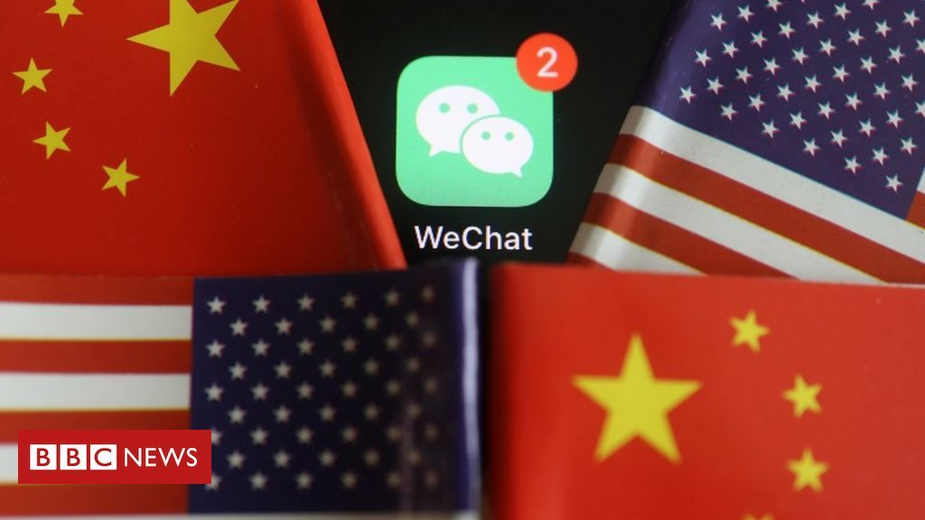 Trump Wechat Ban An Unwelcome Signal For Chinese Community In 2020 My Bubbles Trump Bbc News