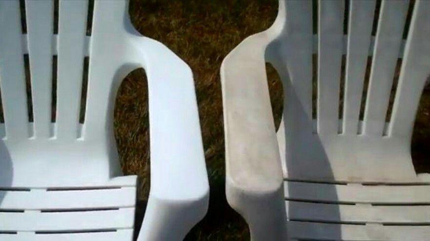 Nettoyer / blanchir du mobilier de jardin | Comestiques ...