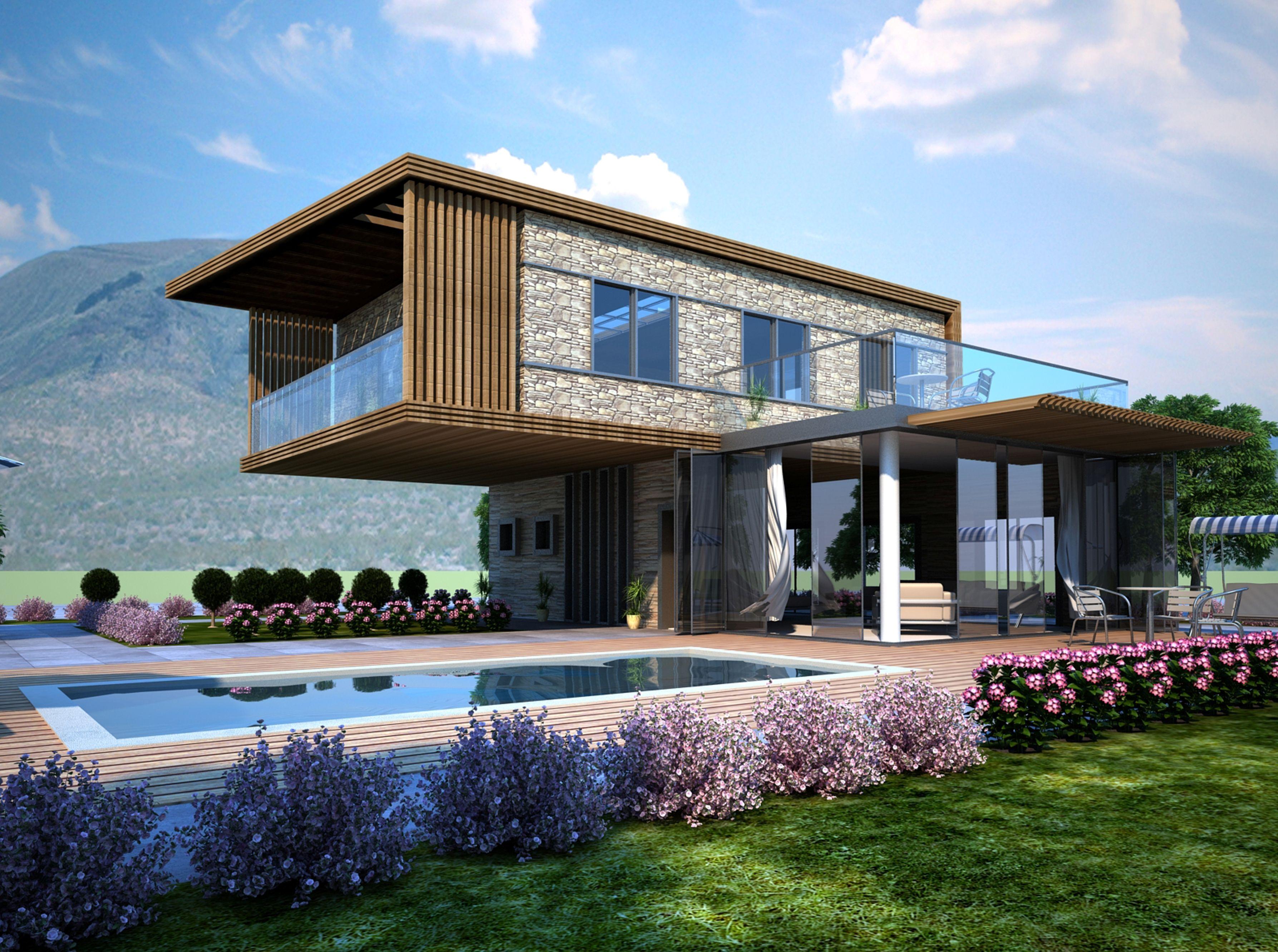Architecture Design Concept Gooa Building Summerhouse Cesme