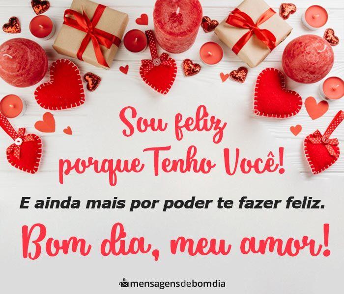 Bom Dia Amor Linda Mensagem De Bom Dia Amor Para Enviar Confira
