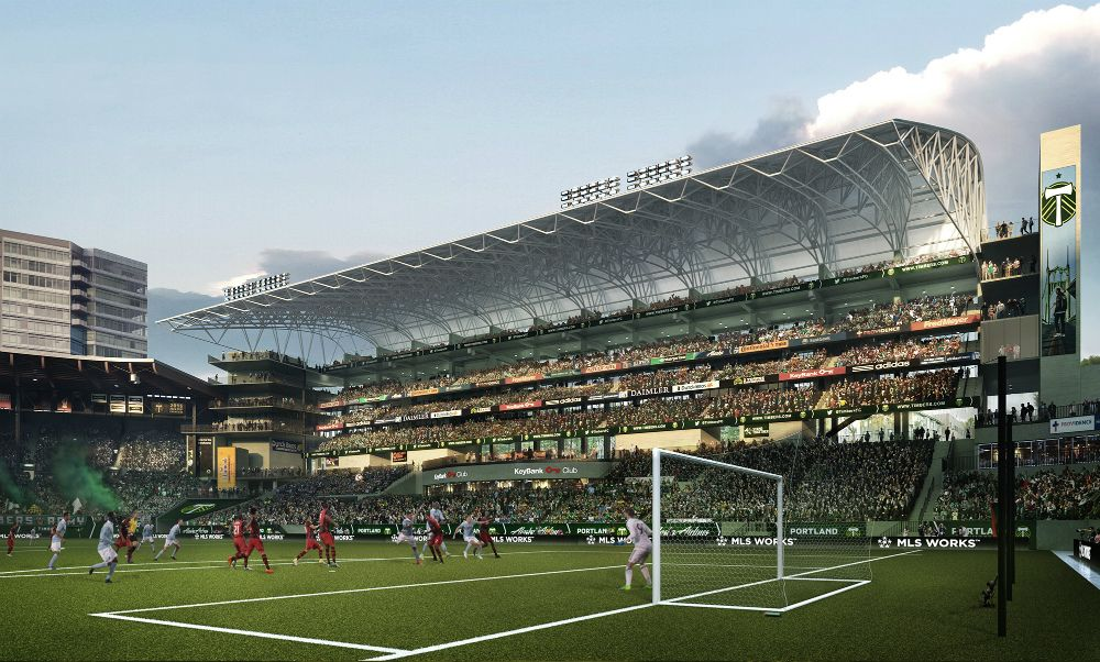 The Portland Timbers Stadium Expansion Will Aim To Add Roughly 4 000 Seats And Represents The Stadium S Second Portland Timbers Providence Park Soccer Stadium