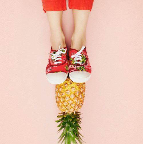 Bensimon  tennis ananas nanas