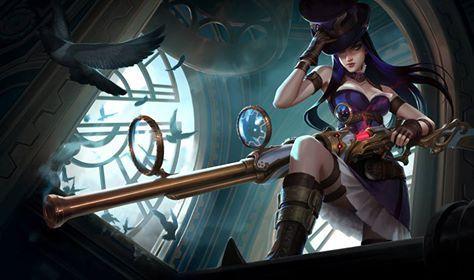 Steampunk Universe  ★ https://www.facebook.com/steampunk.universe ★ #Steampunk #victorian #gosstudio  Caitlyn - League of Legends, by Jason Chan.