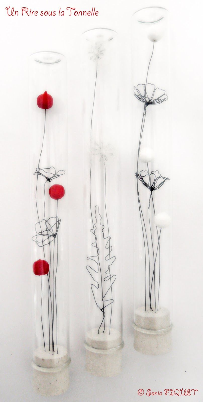 Botanique, Les Cosmos   wire things   Pinterest   Draht ...