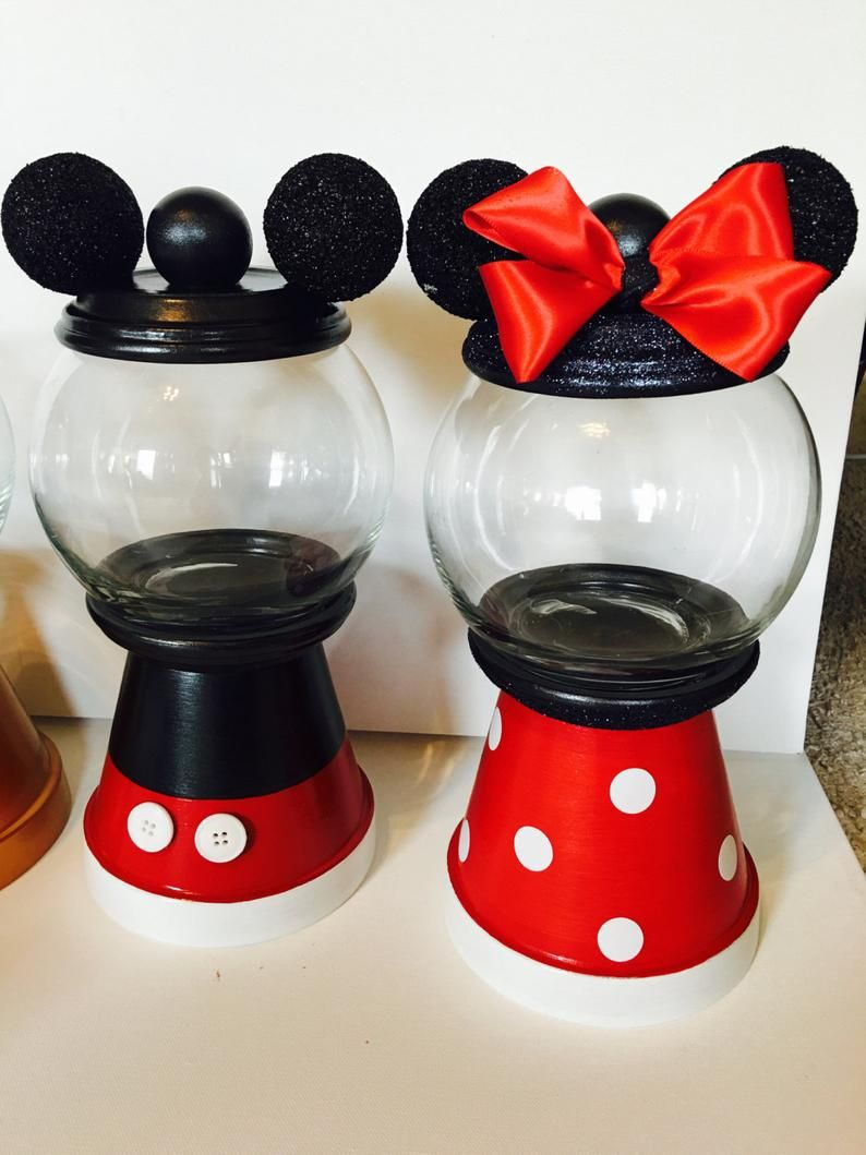 Mickey Mouse Club House Inspired Gumball Machines With Images