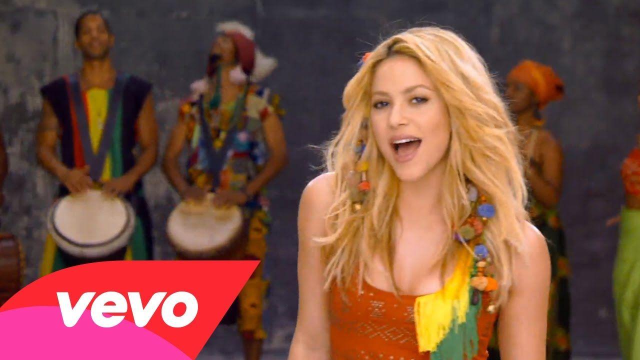 Shakira Waka Waka This Time For Africa The Official 2010 Fifa World Cup Song Shakira World Cup Song Popular Music Videos