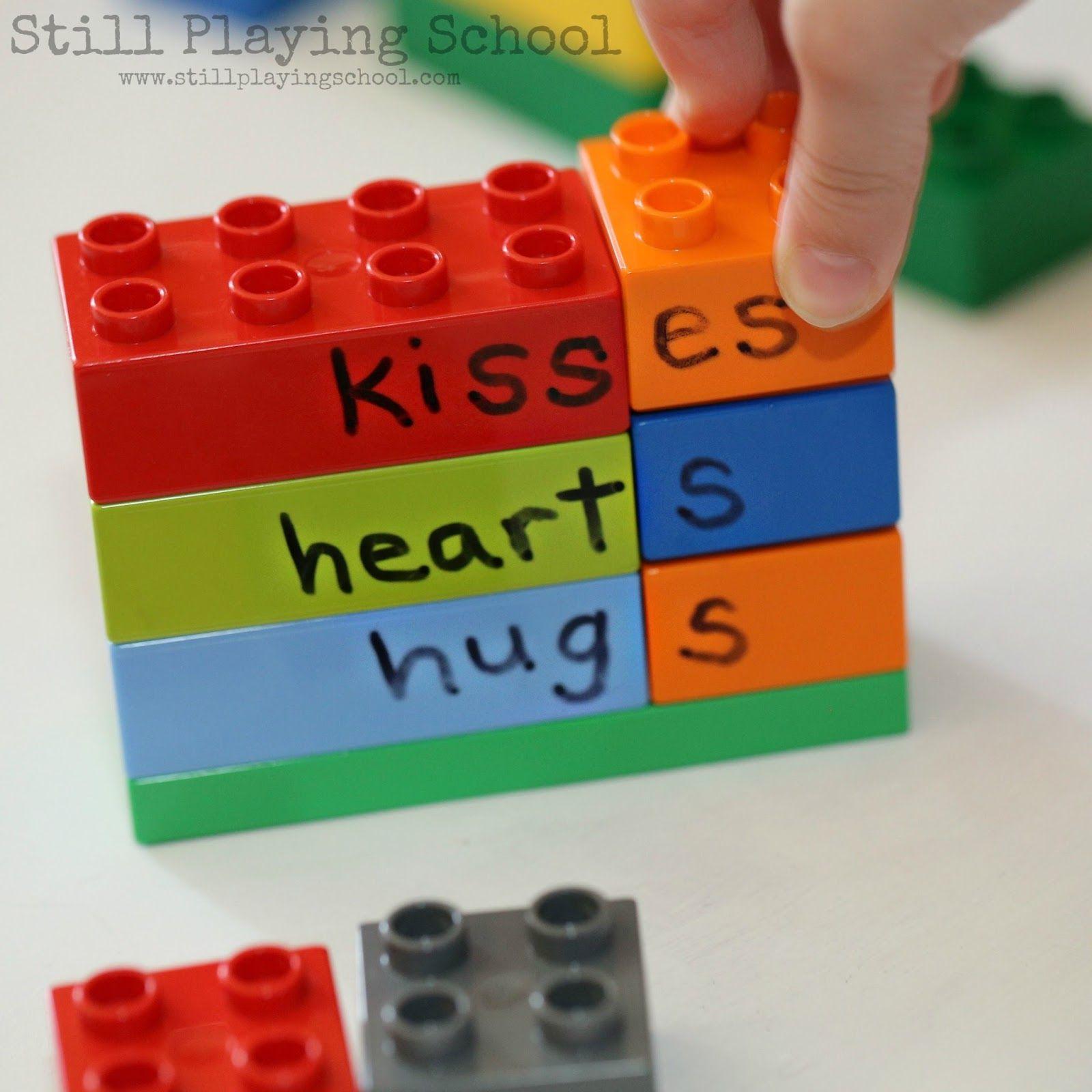 Plural Nouns Lego Activity For Kids