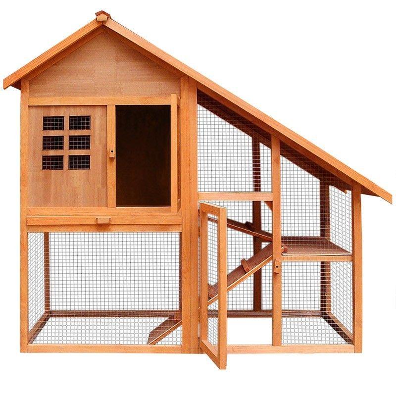 Waterproof Wooden House Pet Cage Rabbit Layer Coop Buy Wooden