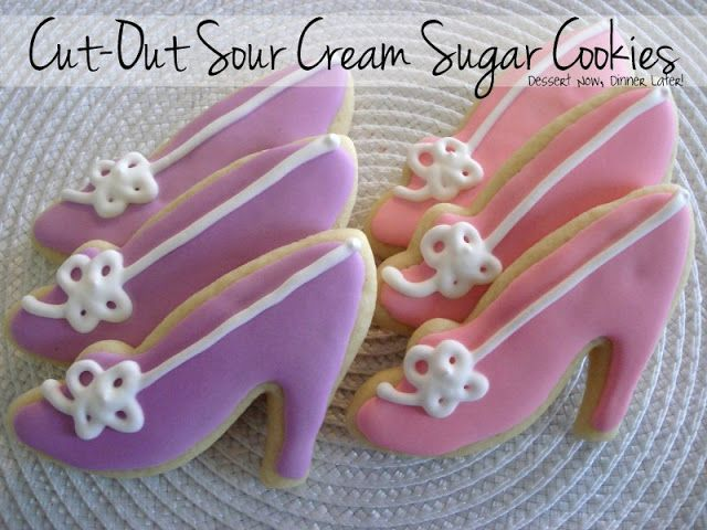 Share it! First of all, Happy Valentine's Day! I hope you all have someone special to share the day with: a significant other or a best friend or your family. Have fun today! One of my friends asked me if I would do some high-heel shoe sugar cookies for an event she was in charge …