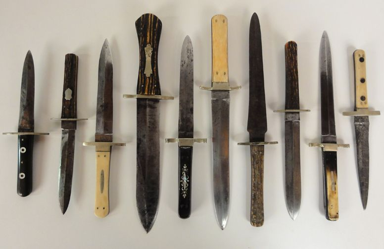 Antique Dagger Bowie Knife Collection A