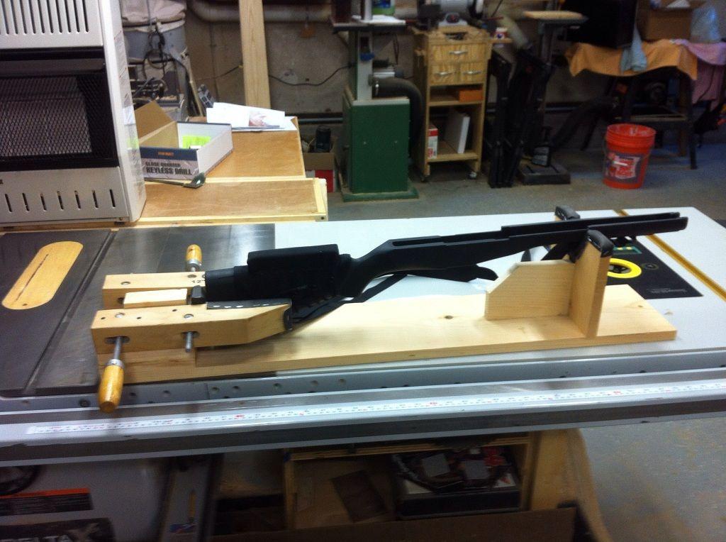 Woodworking Projects That Sell gun rest Homemade Gun