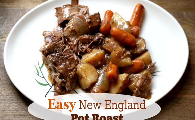 New England Pot Roast – Best Easy Meal