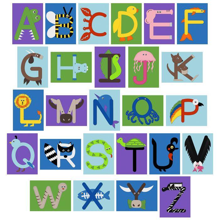 Letter Animals Preschool