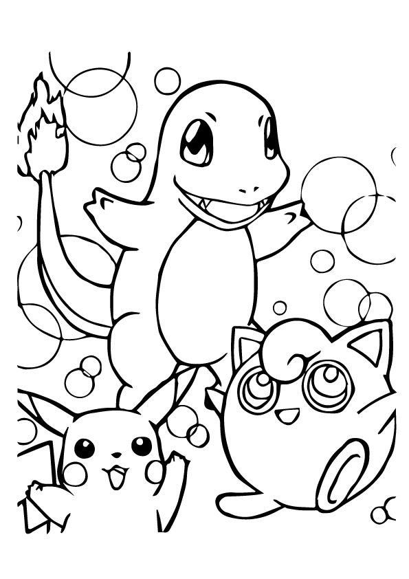 print coloring image - MomJunction | Coloring Pages | Pokemon ...