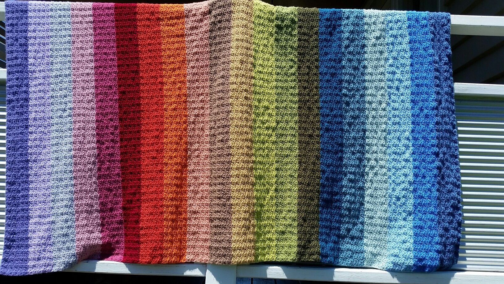 Hydrangea Rainbow Blanket Crochet Patterns Crochet Crochet
