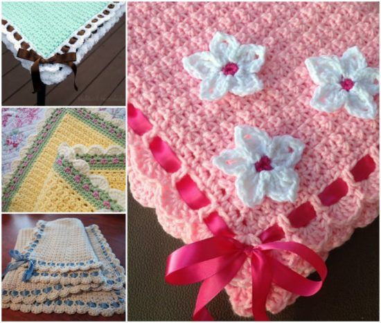Vintage Crochet Baby Blanket Patterns Crochet Baby Blankets