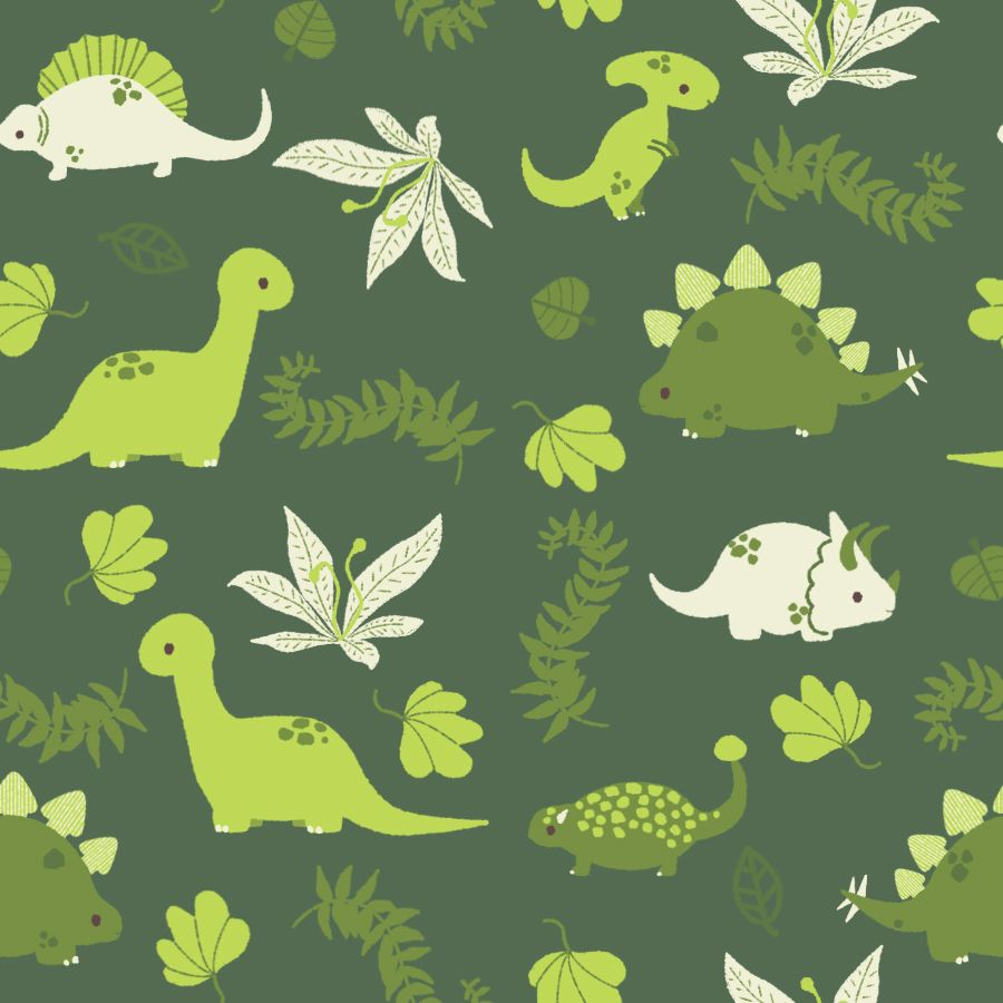 Dino Dino Pattern By Pronouncedyou On Deviantart Dinosaure