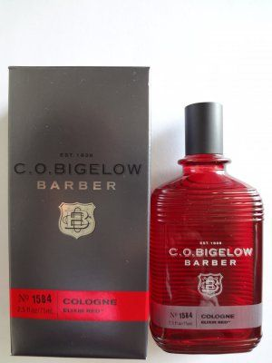 Bath And Body Works C O Bigelow Barber Cologne Elixir Red