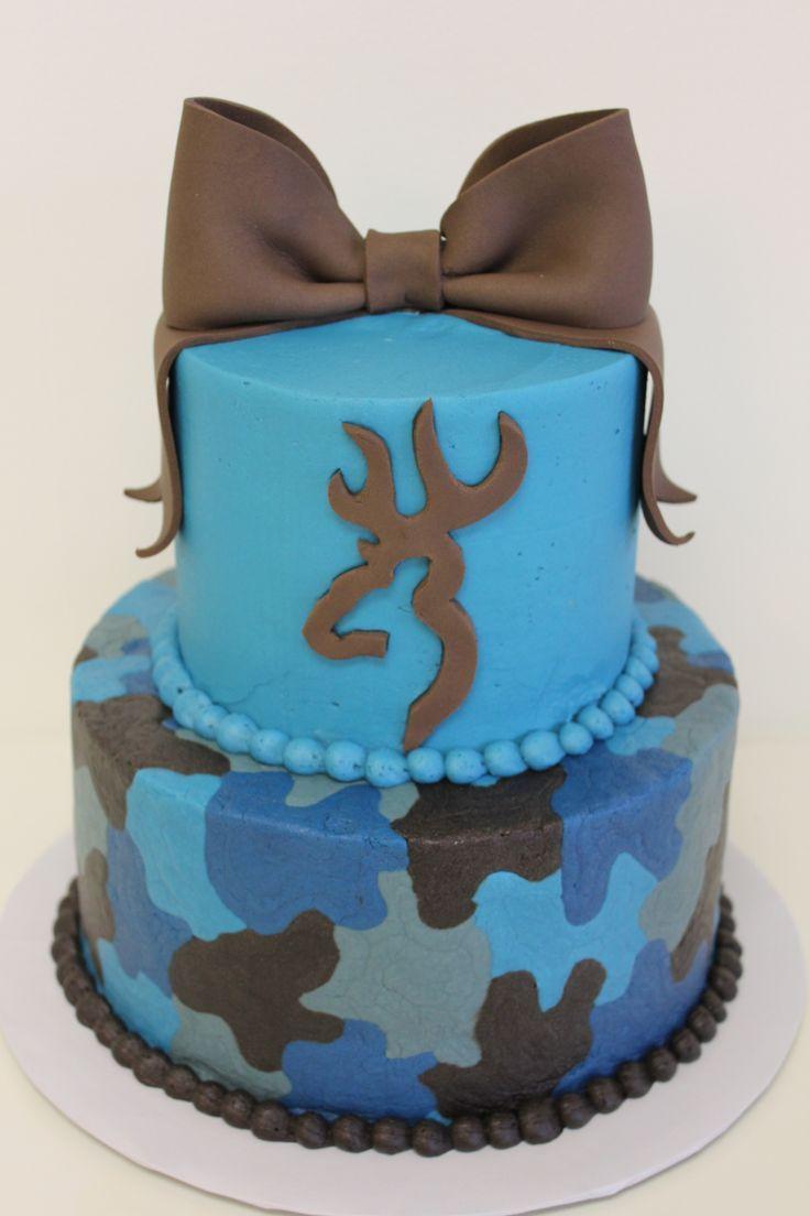Country Birthday Cake Browning Camo Cake Country Girl Birthday