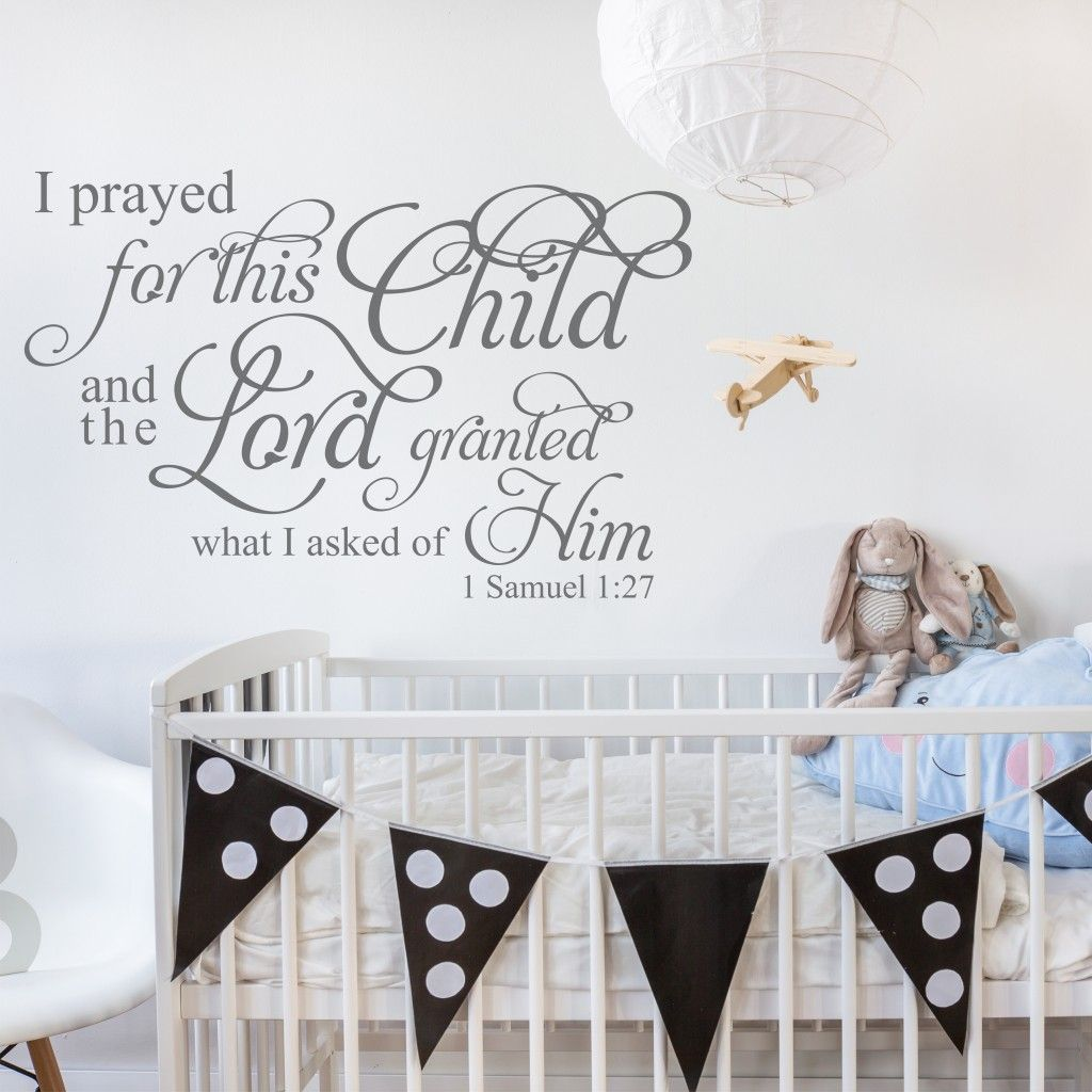 Wall Quotes And Verse Decals For Home Church Family Love Nursery Decal Baby Art