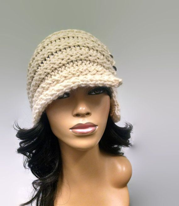 Instant Download Pattern Only Easy Loom Knit Cloche Flapper Hat