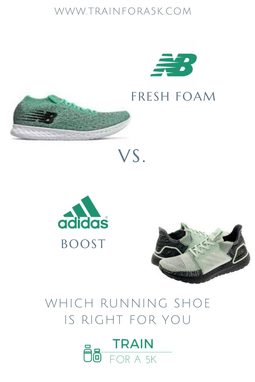 New Balance Fresh Foam vs. Adidas Boost