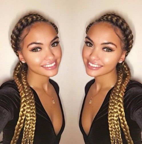 Beautiful Braids With The Cheapest Price Affordable Human Hair Extensions Great Long Hair Weaves Braids With Weave Cornrows With Weave Braids With Extensions