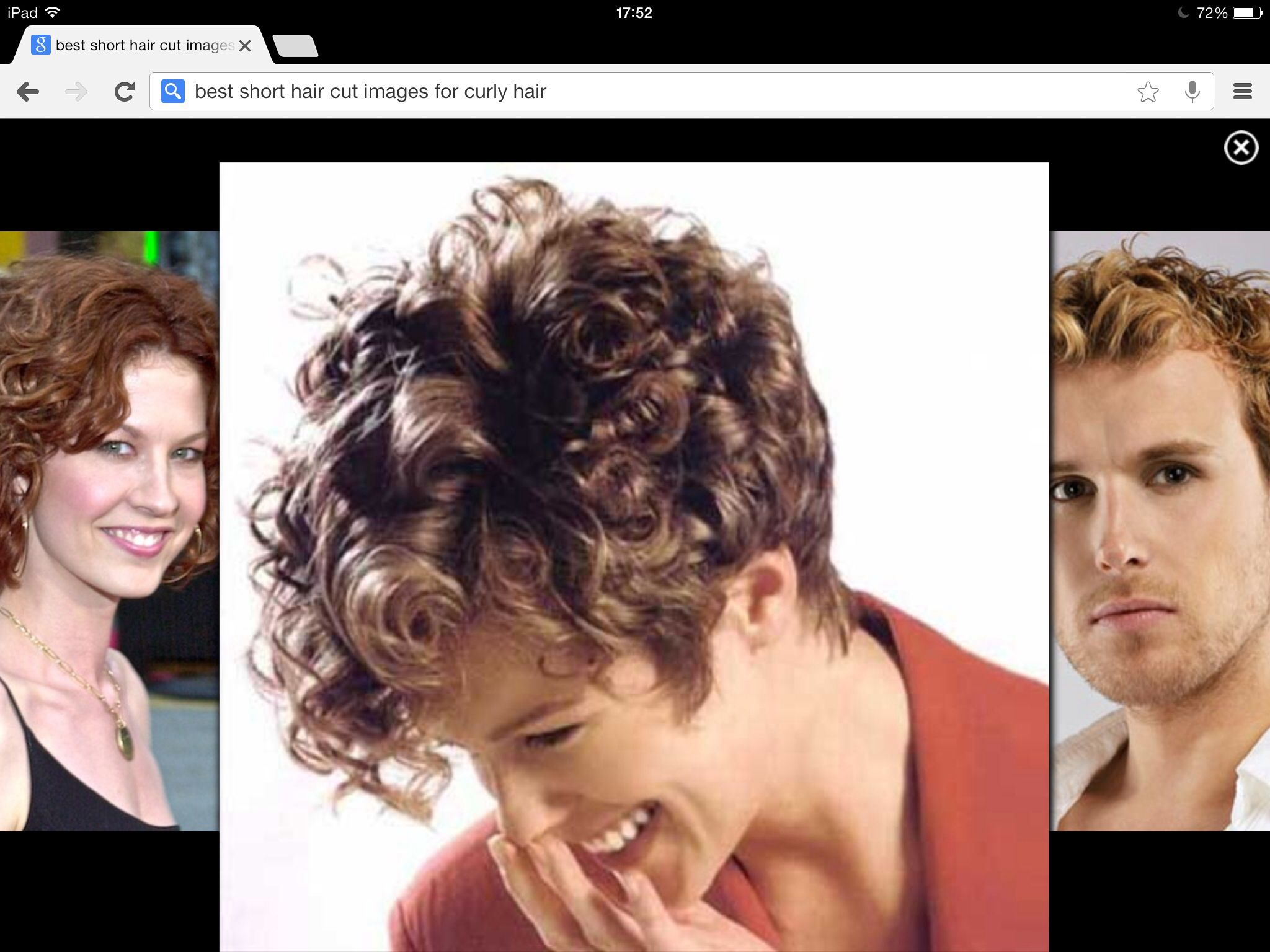 Pin By Branislava Ristic On Frizure In 2020 Short Curly Hairstyles For Women Short Permed Hair Short Curly Haircuts