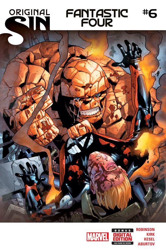 Fantastic Four No.6 (Original sin) - Cover by Leonard Kirk