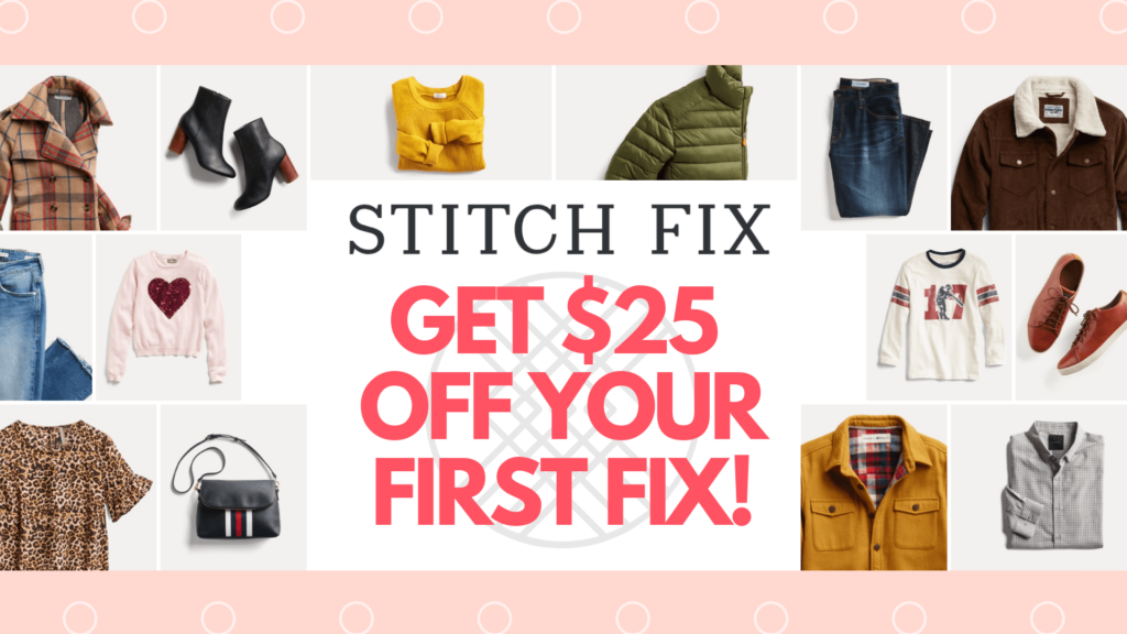 Stitch Fix Coupon Code 2019 Get 25 Off Your First Fix