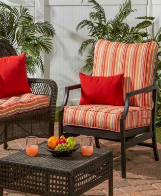 Deep Seat Cushion Set Tan Beige Deep Seat Cushions Porch Swing Cushions