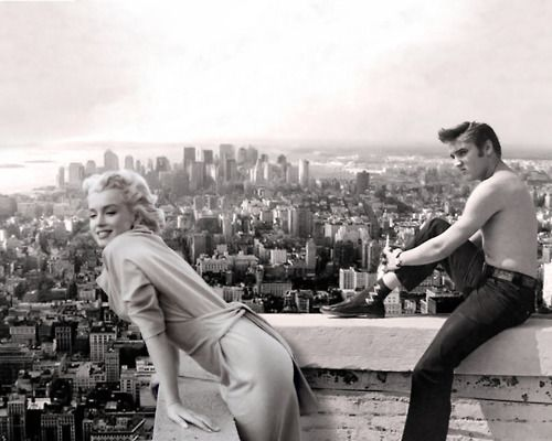 marilyn monroe and james dean actors pinterest sch ne menschen schwarz wei und 50er. Black Bedroom Furniture Sets. Home Design Ideas