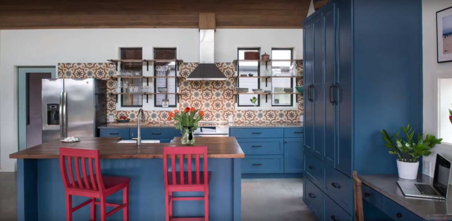 Blue Kitchen Cabinets Miami Blue Kitchen Cabinets Blue Kitchens Kitchen Cabinets