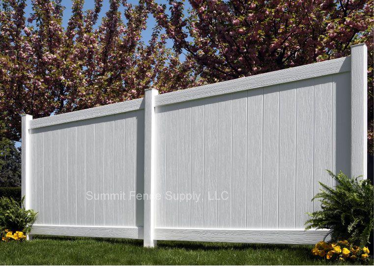 vinyl white fencing Vinyl Fences - Chesterfield CertaGrain Vinyl