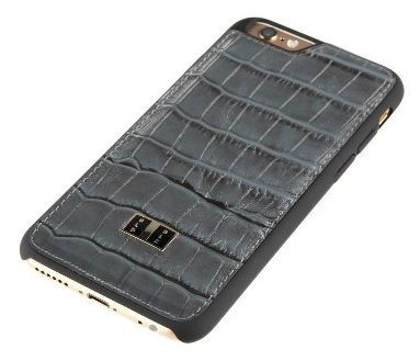 super popular 9d177 c47c1 GOLDBLACK iPhone 6s/6 Back Cover Croco Grey | Electronics & Gadgets ...