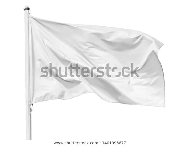 White Flag Waving Wind On Flagpole Stock Image Download Now White Flag Stock Photos Photo Editing
