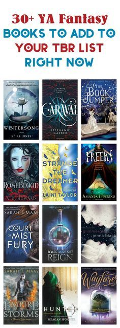 Love YA fantasy? Binge away, my friend, with these 30+ amazingly magical books to read! Check them out! via /nmetolen/ best YA to read 2017