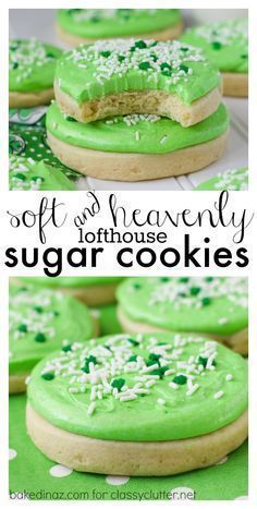 Heavenly Sugar Cookies {Lofthouse Style} - Classy Clutter