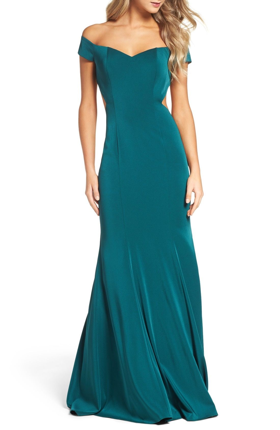 La Femme Mermaid Gown available at #Nordstrom | Wedding ideas ...