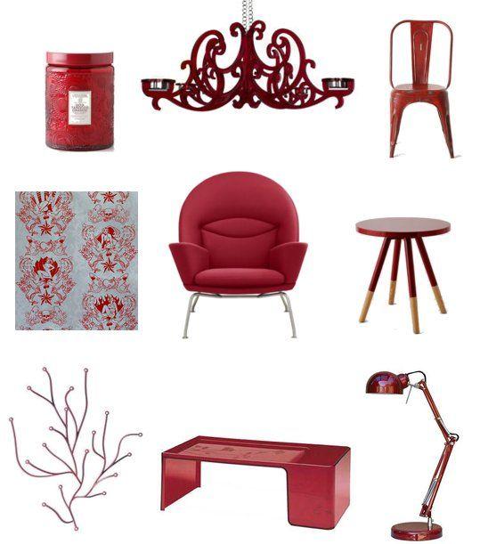 Lots Of Ruby Inspiration From Casasugar.com