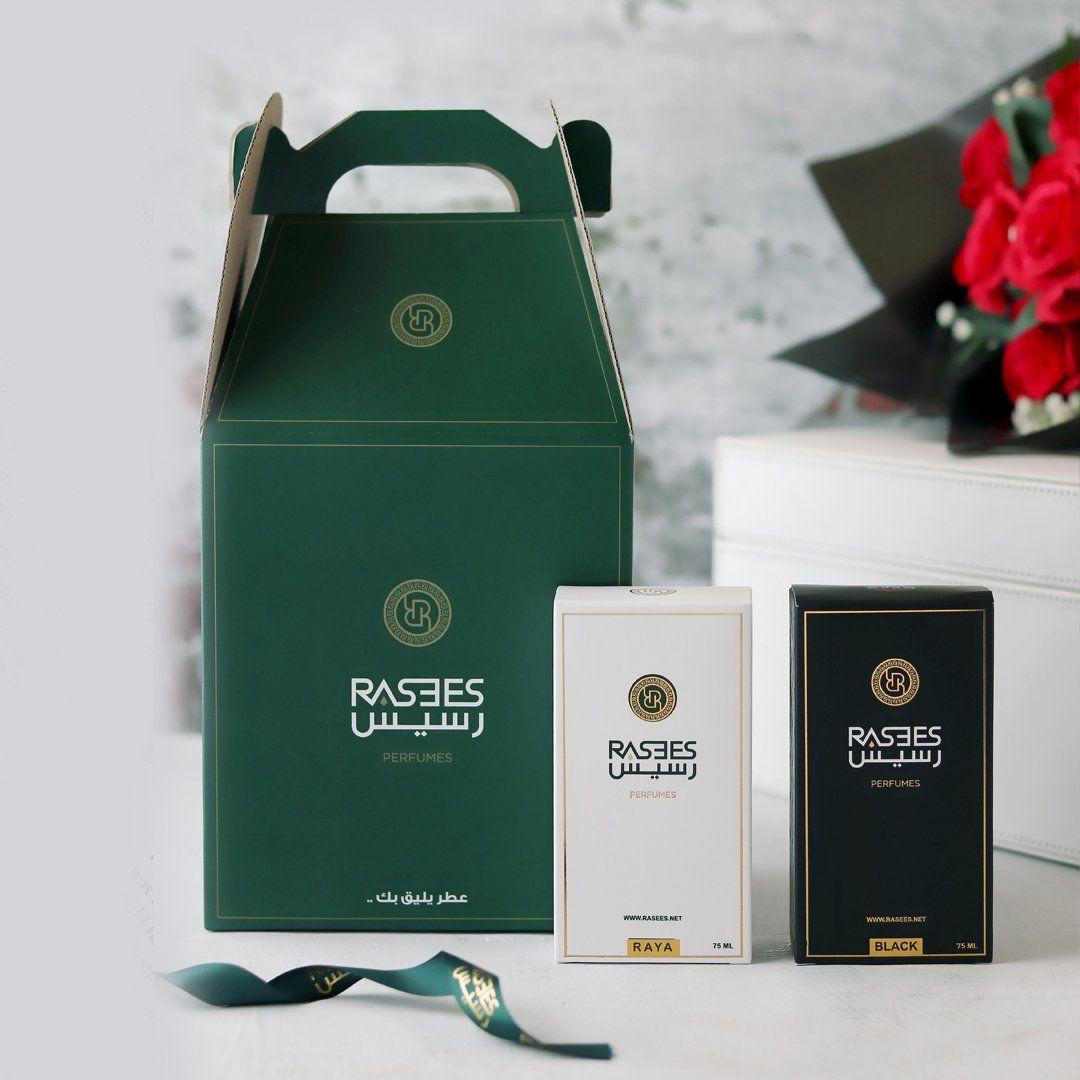 مجموعة التــميز بلاك رايا رسيس للعطور Rasees Perfumes Perfume The Midnight Game Coffee Bag