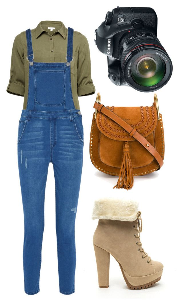 """""""photographer"""" by nikkyvanderoer on Polyvore featuring Rebecca Minkoff, Chloé and Eos"""