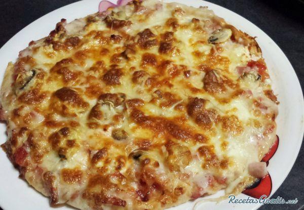 Receta De Pizza Con Queso De Cabra Y Bacon Receta Queso De