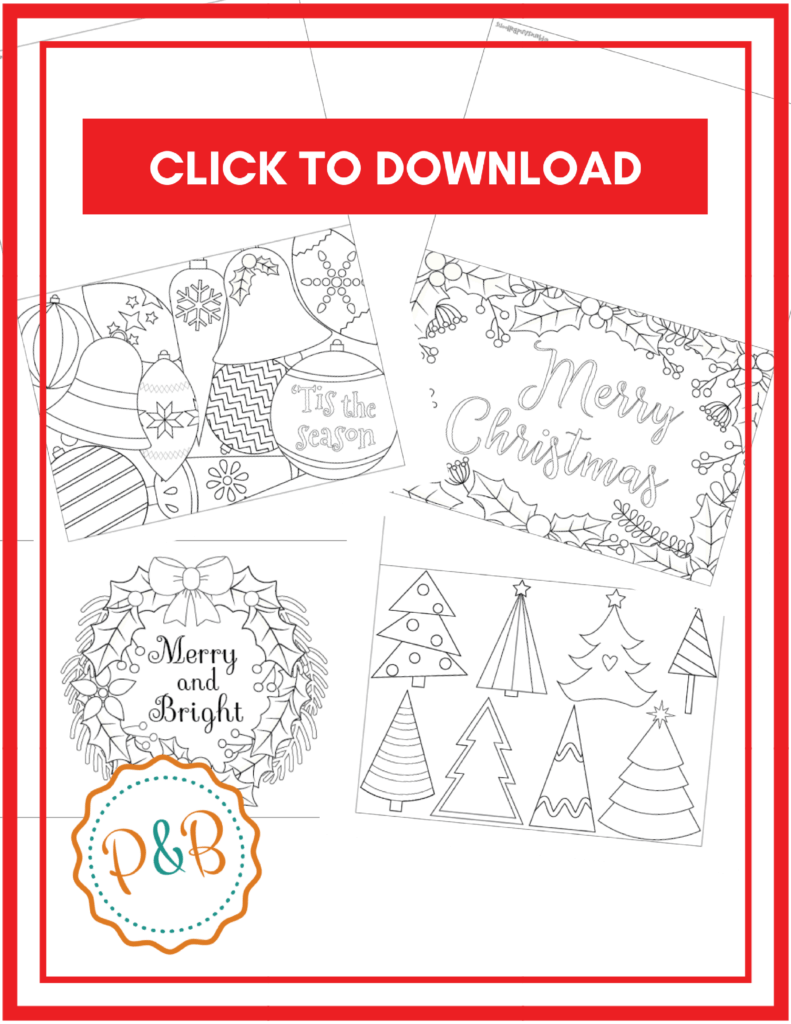 6 Unique Printable Christmas Cards To Color Free Pdf Unique Christmas Cards Printable Holiday Card Free Printable Christmas Cards